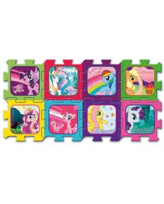 Puzzle de podea Trefl - My Little Pony, 8 piese (49111)