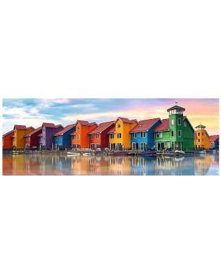 Puzzle panoramic Trefl - Groningen, Holland, 1.000 piese (55041)