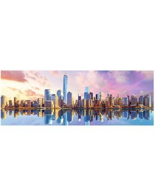 Puzzle panoramic Trefl - Manhattan, New York, 1000 piese (55040)