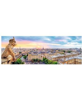 Puzzle panoramic Trefl - Paris, 1000 piese (54108)