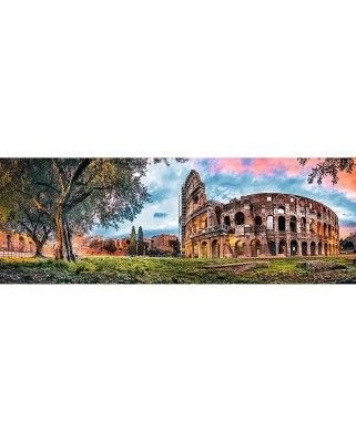 Puzzle panoramic Trefl - The Colosseum, 1.000 piese (53205)