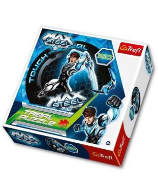 Puzzle rotund Trefl - Max Steel, 150 piese (40471)