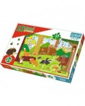 Puzzle Trefl - Animals in the forest, 15 piese XXL (64834)