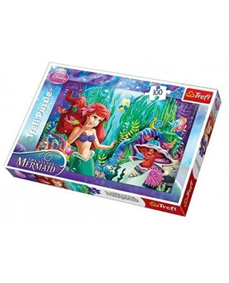 Puzzle Trefl - Ariel the Little Mermaid, 100 piese (47073)