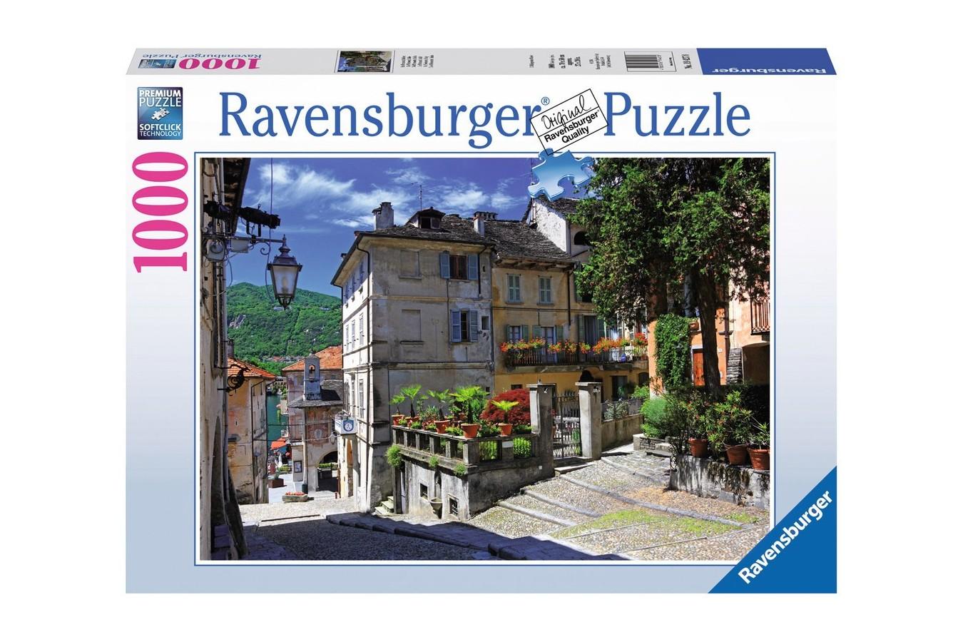 Puzzle Ravensburger - Motiv Mediteran, 1.000 piese (19427)