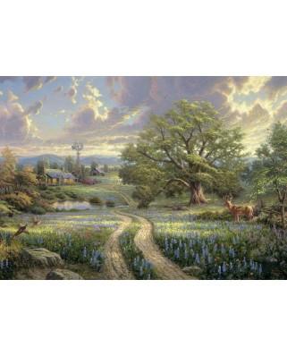 Puzzle Schmidt - Thomas Kinkade: Viata la tara, 1.000 piese (58461)