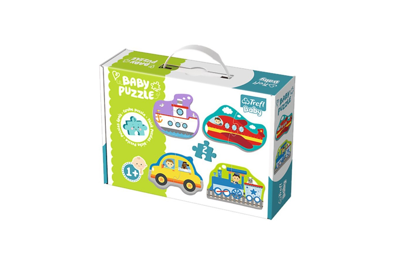 Puzzle Trefl - Baby Puzzles, 4x2 piese (64898)