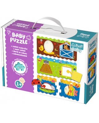 Puzzle Trefl - Baby Puzzles, 4x4 piese (64901)