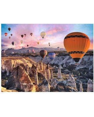Puzzle Trefl - Balloons over Cappadocia, 3.000 piese (58136)