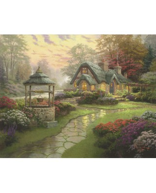 Puzzle Schmidt - Thomas Kinkade: Conacul dorintelor, 1.000 piese (58463)