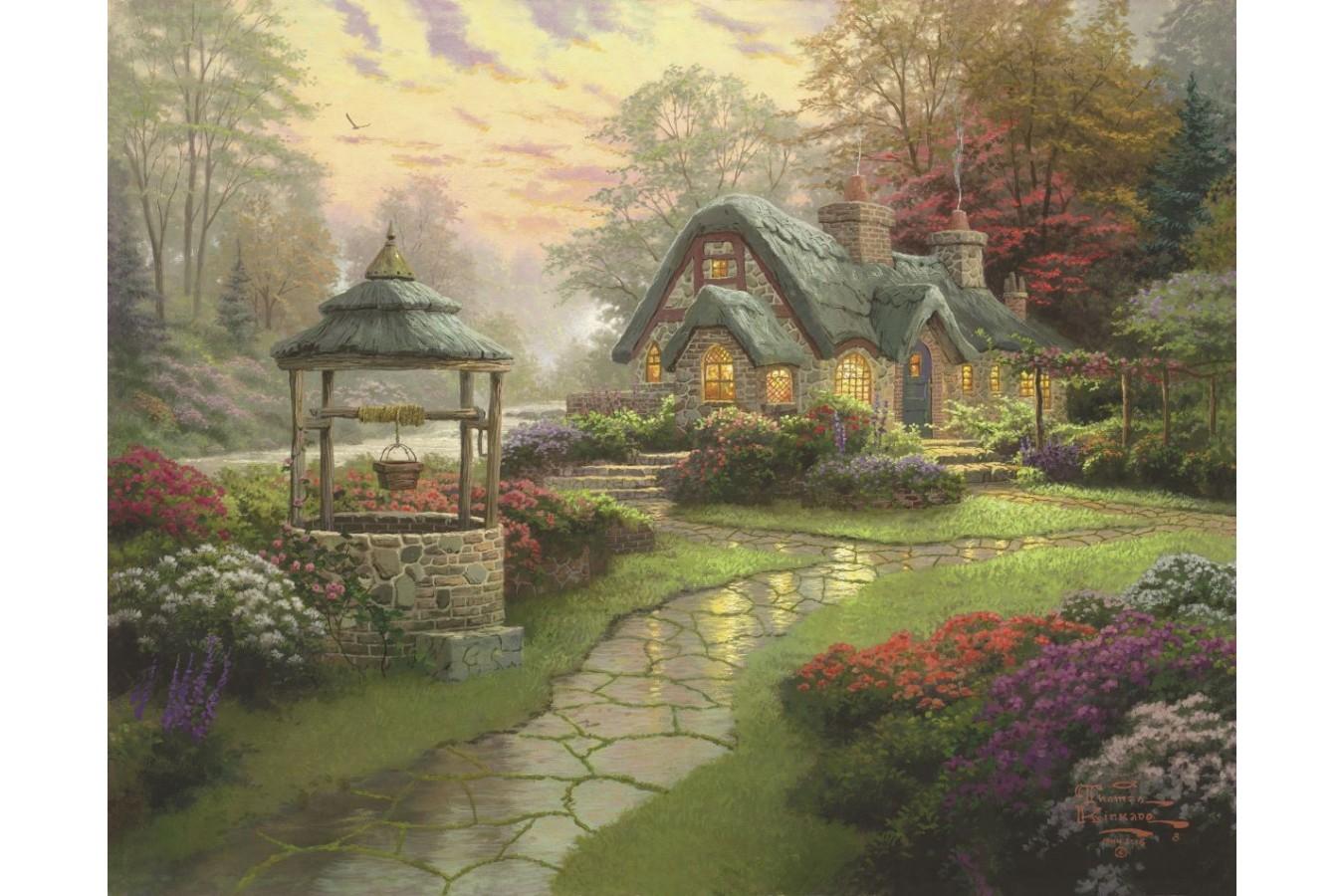 Puzzle Schmidt - Thomas Kinkade: Conacul dorintelor, 1000 piese (58463)