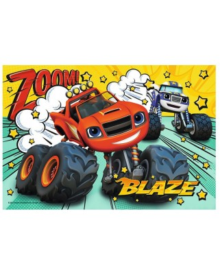 Puzzle Trefl - Blaze and the Monster Machines, 60 piese (64843)