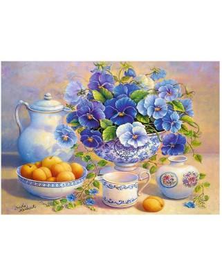 Puzzle Trefl - Blue Bouquet, 1.000 piese (64817)