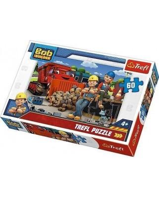 Puzzle Trefl - Bob The Builder, 60 piese (64842)