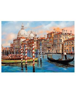 Puzzle Trefl - Canal Grande, Venice, 1.000 piese (64815)