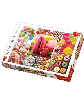 Puzzle Trefl - Candy Collage, 1.000 piese (61517)