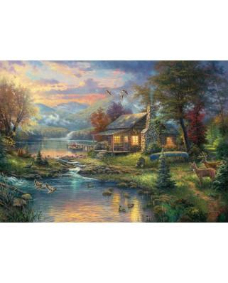 Puzzle Schmidt - Thomas Kinkade: Paradisul naturii, 1.000 piese (59467)