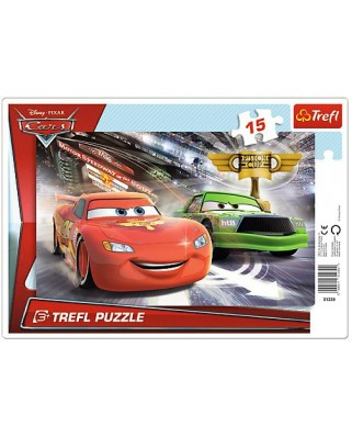 Puzzle Trefl - Cars, 15 piese (53238)