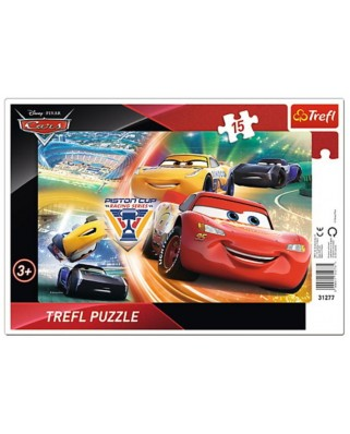 Puzzle Trefl - Cars, 15 piese (64916)