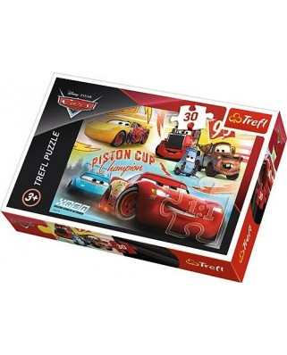 Puzzle Trefl - Cars, 30 piese (64863)