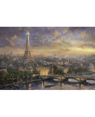Puzzle Schmidt - Thomas Kinkade: Paris, orasul iubirii, 1.000 piese (59470)