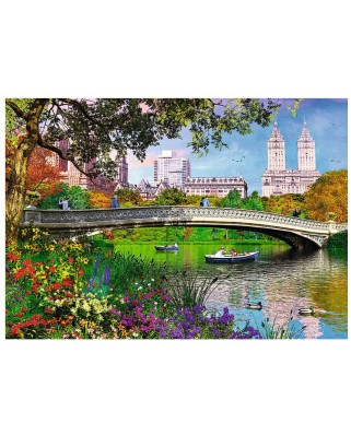 Puzzle Trefl - Central Park, New York, 1.000 piese (64818)