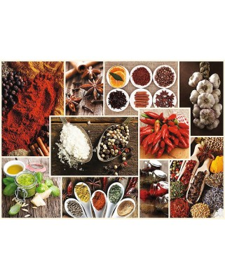 Puzzle Trefl - Collage - Spices, 1.000 piese (61518)