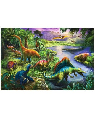 Puzzle Trefl - Dinosaurs, 260 piese (55011)