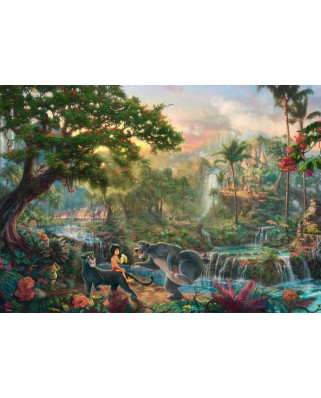 Puzzle Schmidt - Thomas Kinkade: Carte Junglei, 1000 piese (59473)
