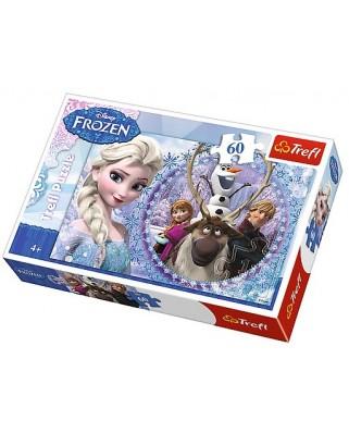 Puzzle Trefl - Disney Frozen, 60 piese (51311)