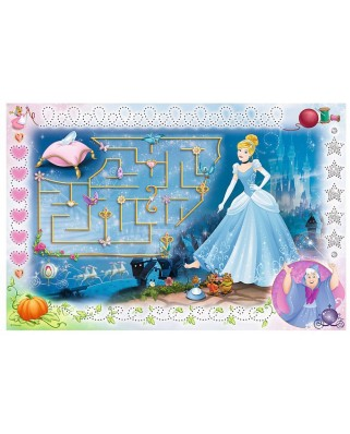 Puzzle Trefl - Disney Princess + Magic Marker, 54 piese (64809)