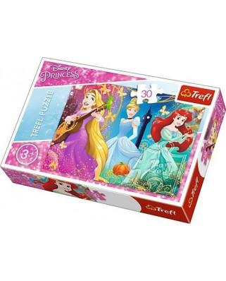 Puzzle Trefl - Disney Princess, 30 piese (64864)
