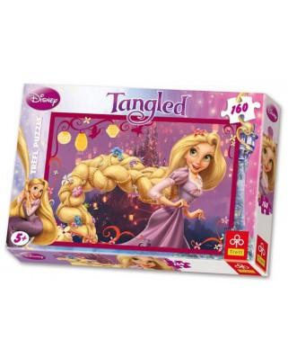 Puzzle Trefl - Disney Princesses : Rapunzel, 160 piese (11331)