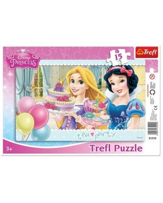 Puzzle Trefl - Disney Princesses, 15 piese (48935)