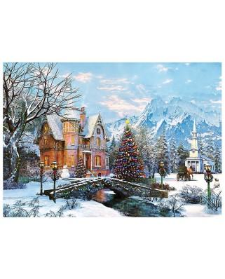Puzzle Trefl - Dominic Davison: Winter Landscape, 1.000 piese (58121)