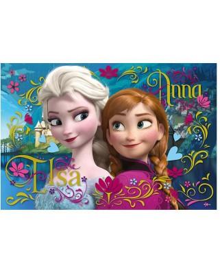Puzzle Trefl - Frozen, 100 piese (53217)
