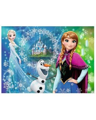 Puzzle Trefl - Frozen, 200 piese (55007)