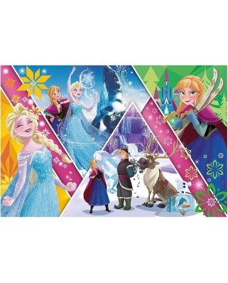 Puzzle Trefl - Frozen, 260 piese XXL (64820)
