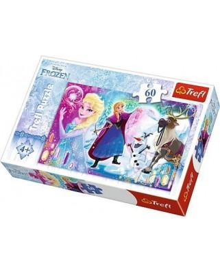 Puzzle Trefl - Frozen, 60 piese (64851)