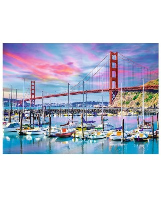 Puzzle Trefl - Golden Gate, San Francisco, 2.000 piese (64915)