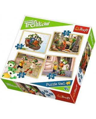 Puzzle Trefl - Koe, 35/48/54/70 piese (57068)
