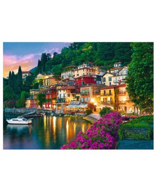 Puzzle Trefl - Lake Como, Italy, 500 piese (61530)