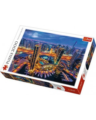 Puzzle Trefl - Lights of Dubai, 2.000 piese (61523)
