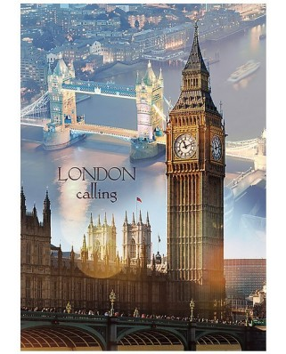 Puzzle Trefl - London Calling, 1.000 piese (51278)