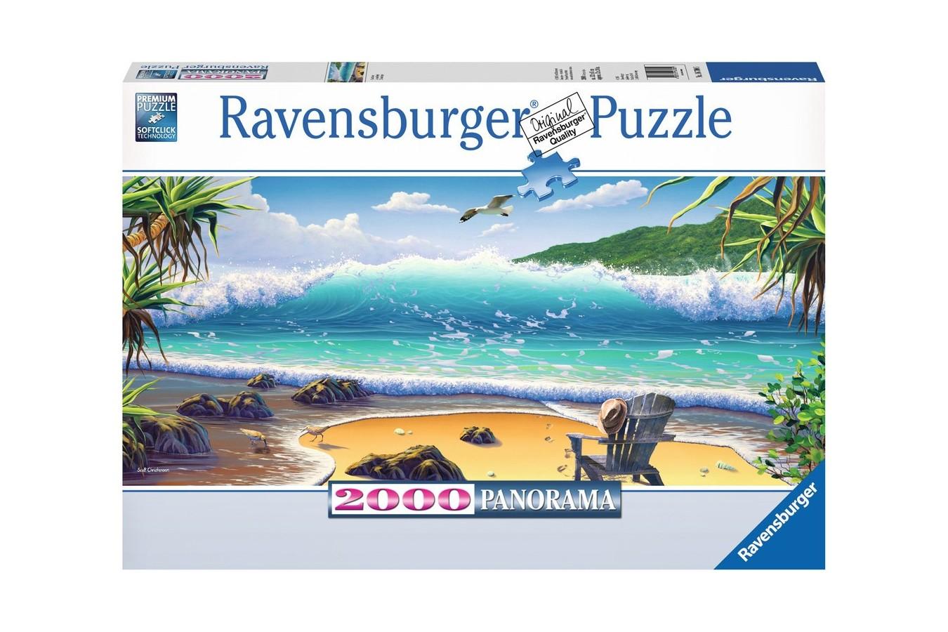 Puzzle Ravensburger - Naufragiati, 2.000 piese (16700)