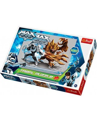 Puzzle Trefl - Max Steel: The Titans Fighting, 100 piese (40402)