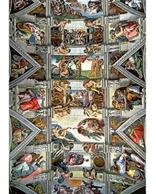 Puzzle Trefl - Michelangelo Buonarroti: Sixtinische Kapelle, 6.000 piese (48840)
