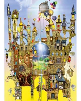 Puzzle Schmidt - Colin Thompson: Castel suspendat, 1.000 piese (59354)
