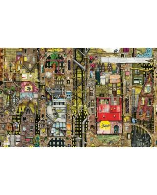 Puzzle Schmidt - Colin Thompson: Peisaj urban fantastic, 1.000 piese (59355)