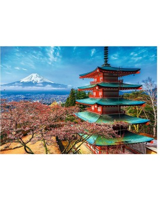 Puzzle Trefl - Mount Fuji, 1.500 piese (55043)